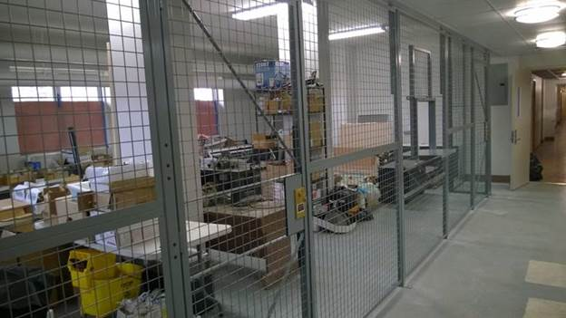 Wire Mesh Modular Cages