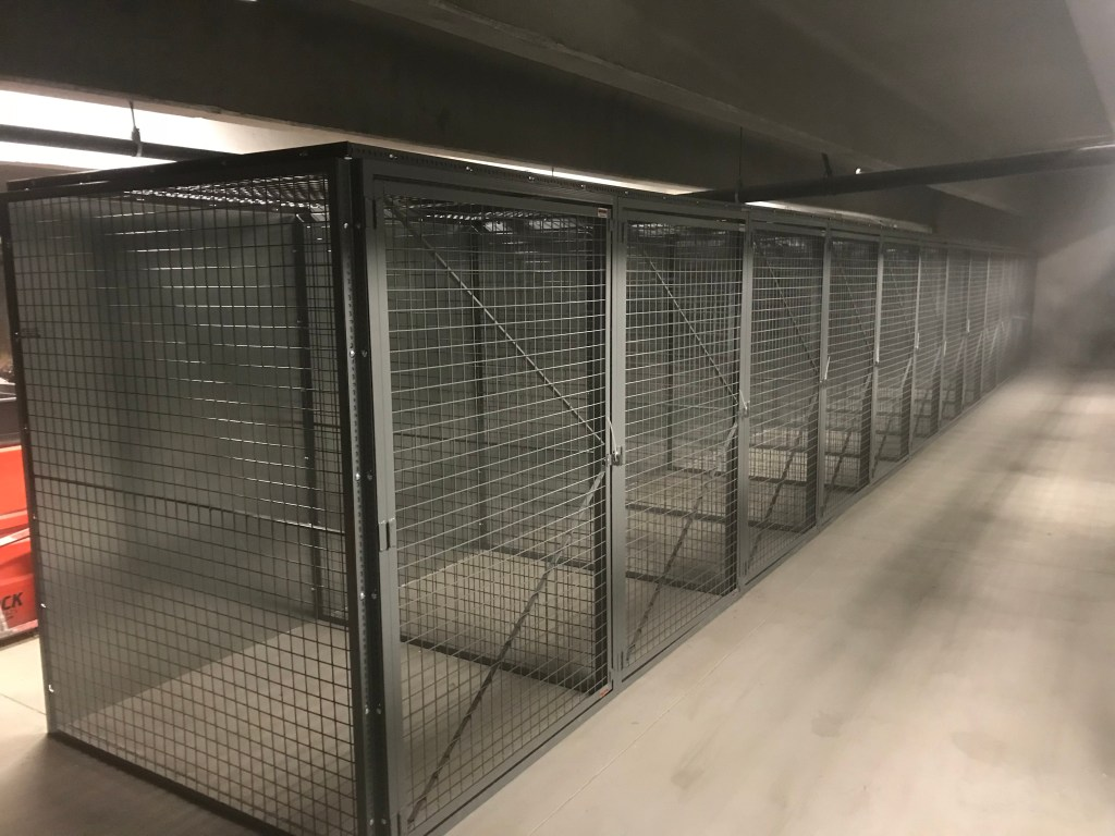 Security Cage To Avoid Theft