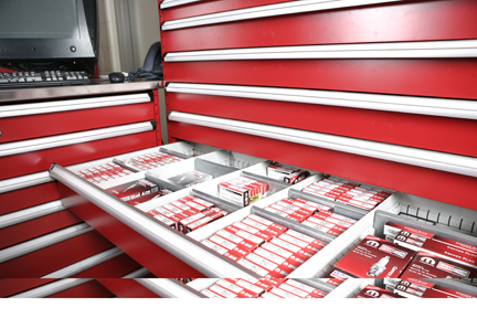 automotive rolling cart drawers