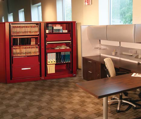 rotating office cabinet