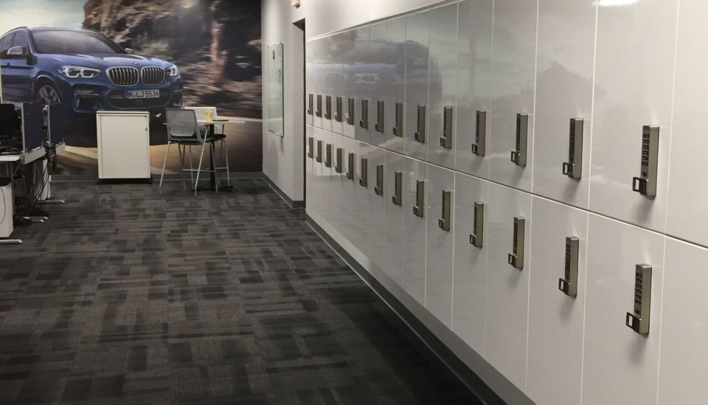 modular locker storage