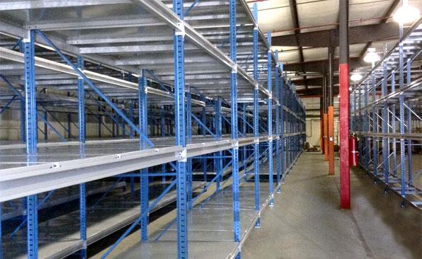Bulk Storage Shelving