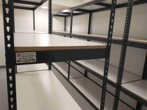 Crime Lab Shelving