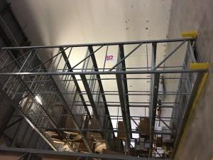 Pallet Rack for Auto Glass Distribution Center