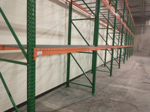 Pallet Rack for a Direct-To-You Shopping Warehouse