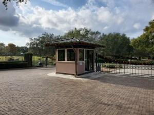Panel Built Guard House