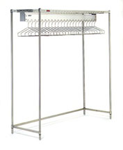 Clean Room Gowning Rack