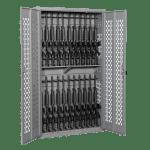 Datum Weapons Rack Cabinet with Bifold Door
