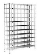 Eagle Cleanroom Gowning Shoe Racks