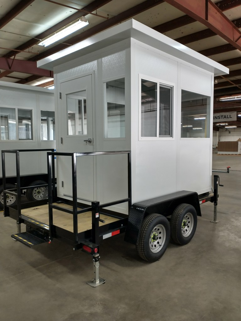 Trailer Mounted Ticket Booth