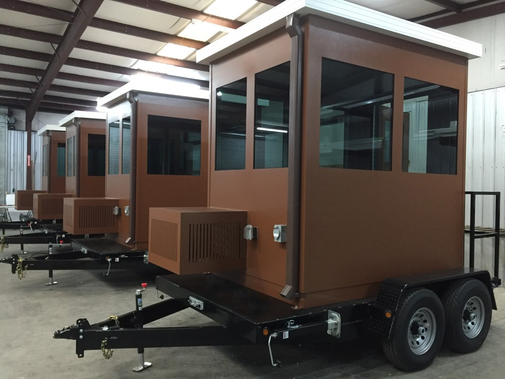 Trailer Mounted Ticket Booths