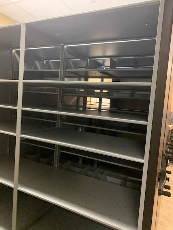 Mobile Shelving for Pharmaceutical Supplies Storage