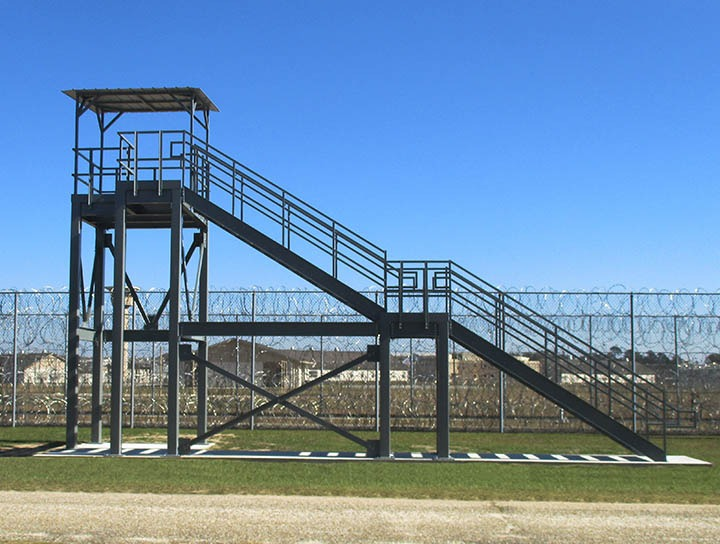 Observation Tower for Department of Corrections Recreation Yard
