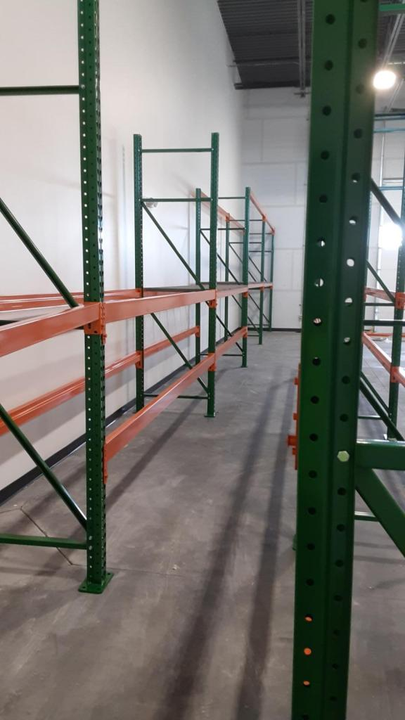 Pallet Rack for Pool and Hot Tub Supply Warehouse