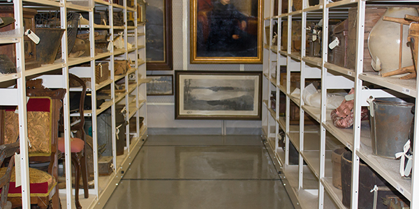 SpaceFile Mobile Shelving for Museums