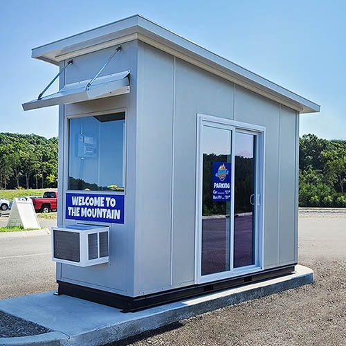 Ticket Booth for a Water Park