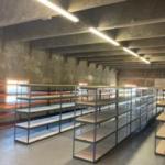 Boltless Shelving for Trailer Manufacturer Parts Stock Room
