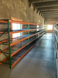 Boltless Shelving for Trailer Manufacturer Parts Stock Room