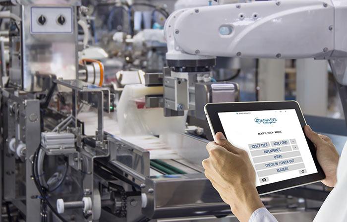 Enasys Asset Tracking Software Tablet
