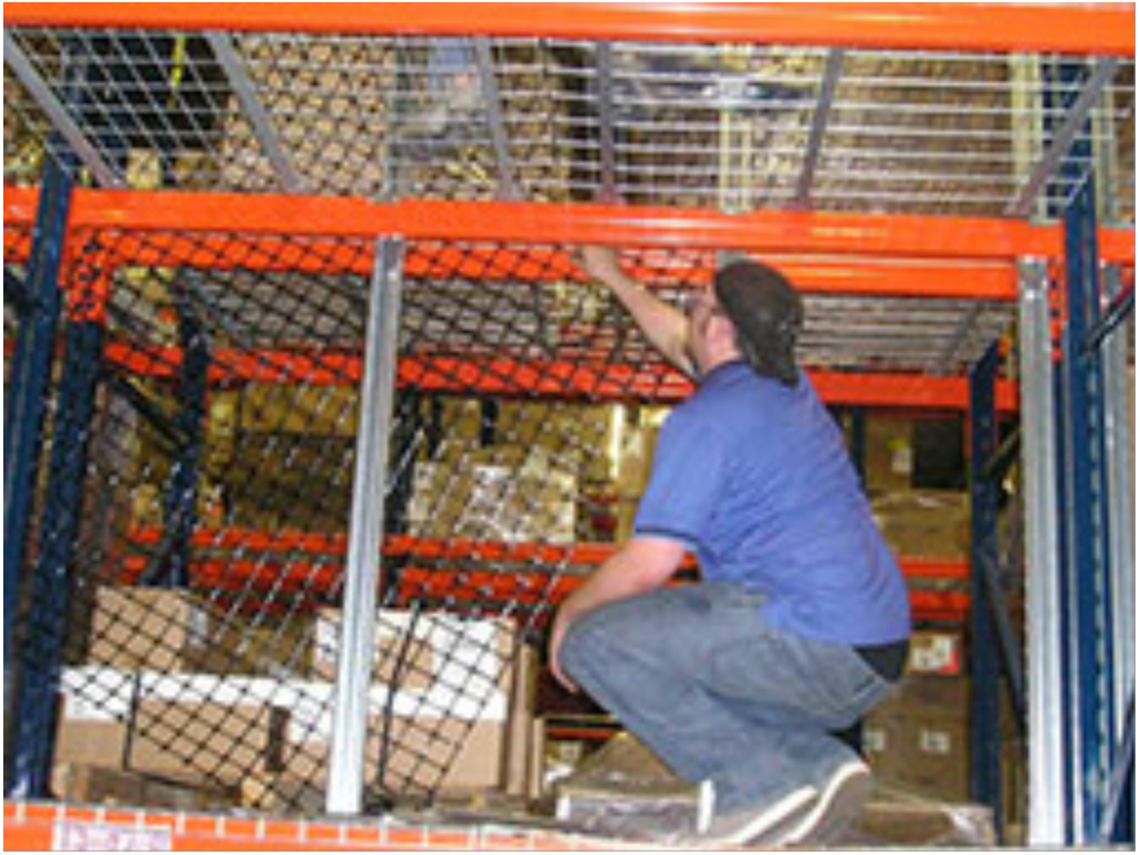 Rack Guard Safety Netting