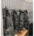 Aurora Parachute Hanger Storage