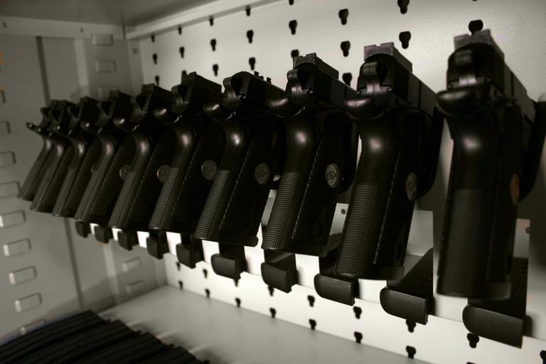 Aurora Weapons Shelving