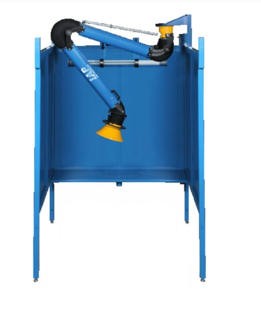 IAP Welding Booth with Fume Extractor
