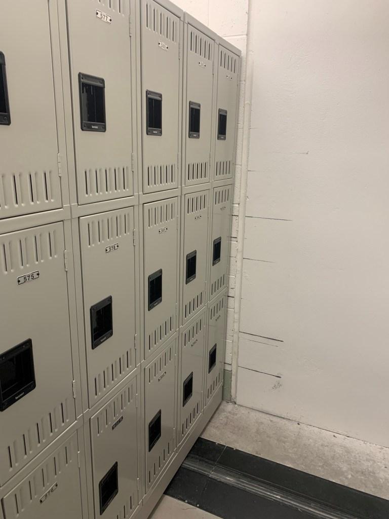 Inmate Property Storage Lockers