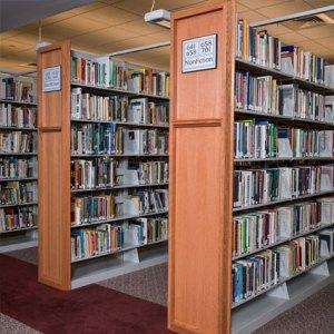 MJ Library Shelving Welded Frame 1000