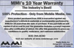 Mobile Media Mobile Shelving Warrantee