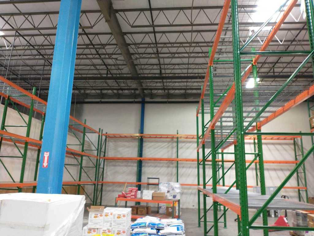 Pallet Rack for Pest Control Inventory