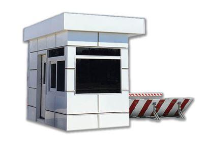 Panel Built Access Control Point Modular Buildings