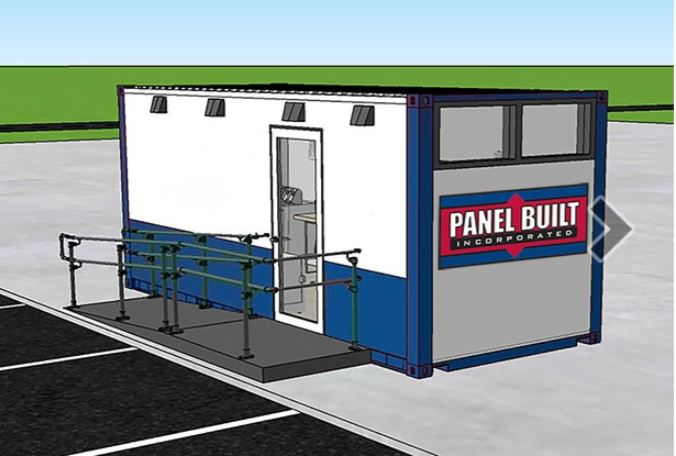 Panel Built Converted Shipping Containers