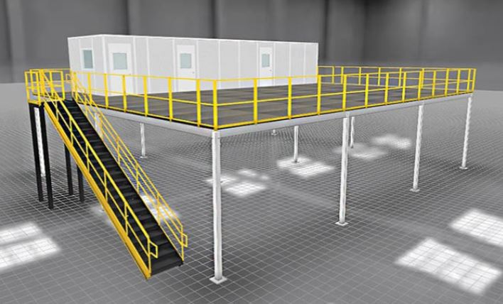 Panel Built Mezzanines and Stair Systems