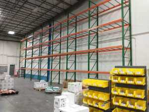 Tall Pallet Rack for Pest Control Products