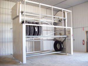 Vidir Tire Carousel in Auto Dealer