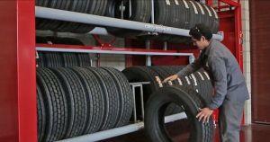 Vidir Tire Carousel in Truck Tires