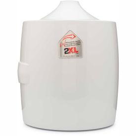 2 Xl Corporation 2XL GymWipes/CareWipes Contemporary Wall Mounted Dispenser – White – 2XL-82