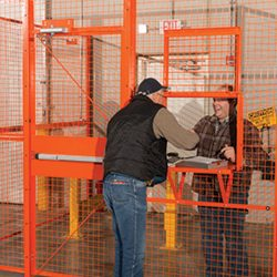 Warehouse Driver Cages